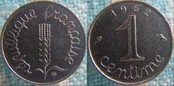 1 Centime 1962