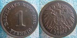 1 pfennig 1915 A