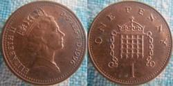 1 Penny 1996