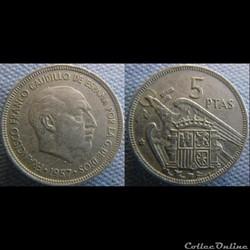 5 pesetas 1957 (72)