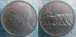 50 Centesimi 1920