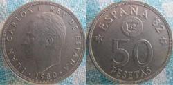 50 Pesetas 1980 (81)