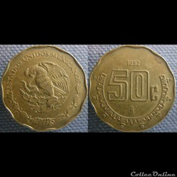 50 Centavos 1992