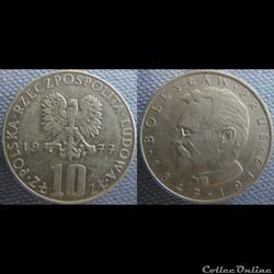 10 Zlotych 1977