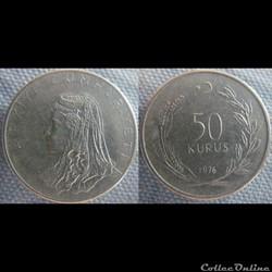 50 Kurus 1976