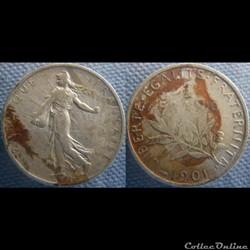 1 Franc 1901