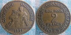 2 Francs 1921