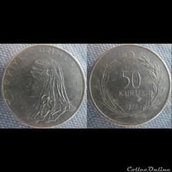 50 Kurus 1977
