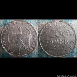 200 Mark 1923 A