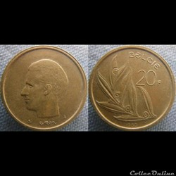 20 Francs 1980 fl