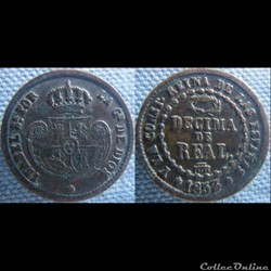 1/10 Real 1853