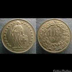 1 Franc 1978