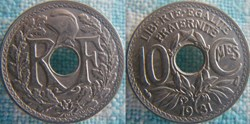 10 Centimes 1931