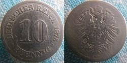 10 pfennig 1875 A