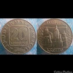 20 Schilling 1995