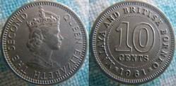 10 Cents 1961 H