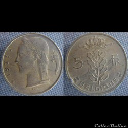 5 Francs 1973 fr