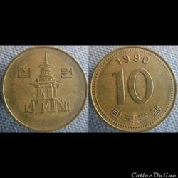 10 Won 1990