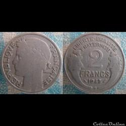 2 Francs 1948 B