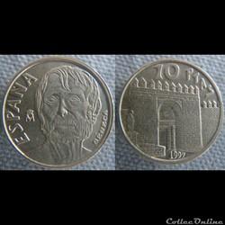 10 Pesetas 1997 Sénèque