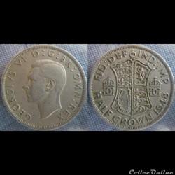 1/2 Crown 1948