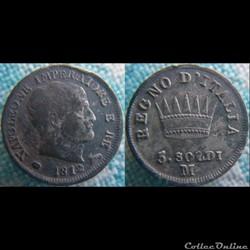 5 soldi 1812 M