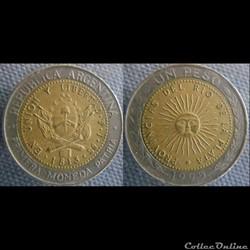 1 Peso 1995