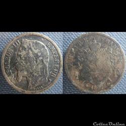 1 Franc 1867 A