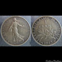 1 Franc 1915