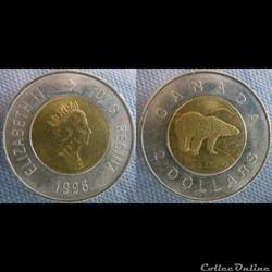 2 dollar 1996