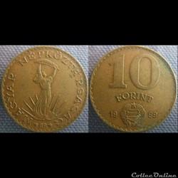10 Forint 1989