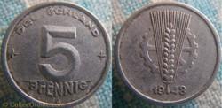 5 Pfennig 1948 A RDA