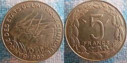 5 Francs 1985