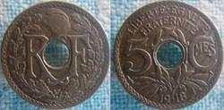 5 Centimes 1918