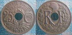 25 Centimes 1933
