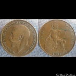 1 Penny 1921