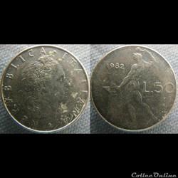 50 Lire 1982