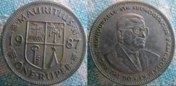 1 Rupee 1987