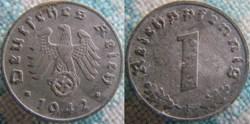 1 reichspfennig 1942 F