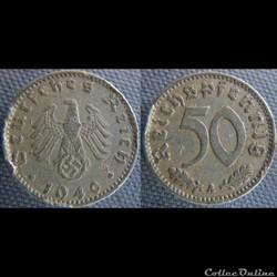 50 Reichspfennig 1940 A
