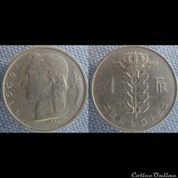 1 Franc 1969 fl