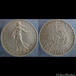 1 Franc 1911