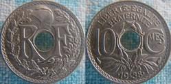 10 Centimes 1938 maillechort