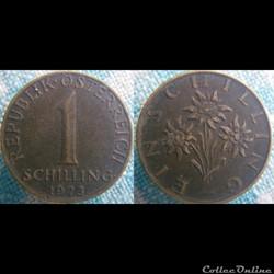 1 Schilling 1973