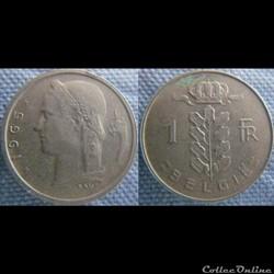 1 Franc 1965 fl