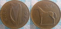 20 Pence 1986