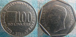100 Bolivares 2004