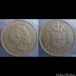 5 Kroner 1986