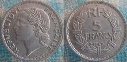 5 Francs 1948