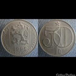 50 Haleru 1989
